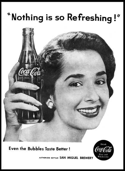 Coke Ad Gloria Romero