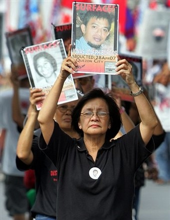 Philippines Day of the Disappeared