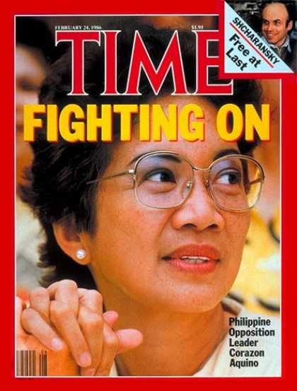 Cory Aquino Fighting On 2