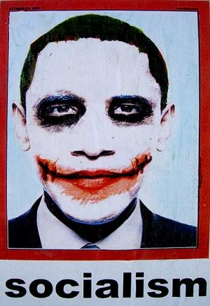 Obama Joker Socialism