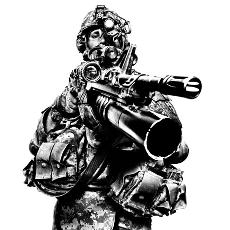 robot militarism
