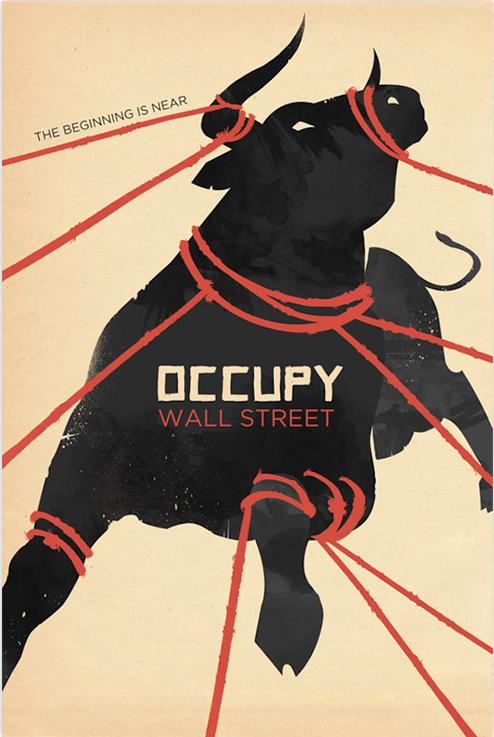 Occupy wall street bull