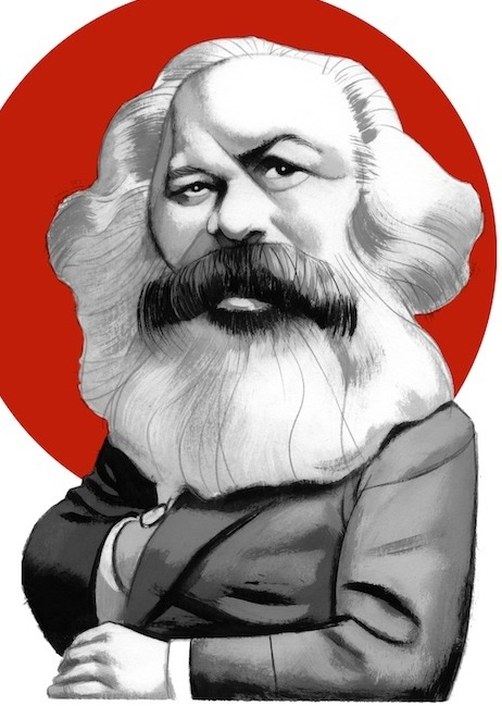 Karl Marx Cartoons