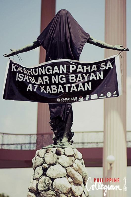 UP Oblation Protest