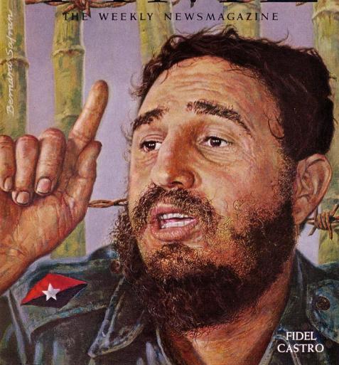 Fidel Castro Bernard Safran