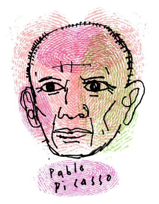 Picasso Henrk Drescher